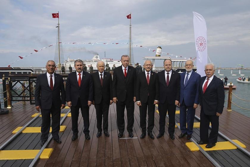 Samsun'daki 19 Mayıs töreninde Kılıçdaroğlu ile Bahçeli tokalaşmadı