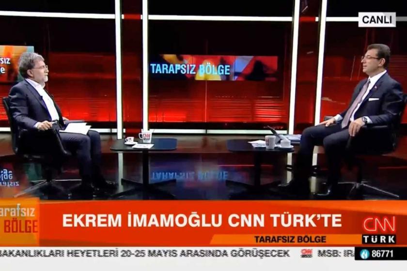 Ekrem İmamoğlu israfı anlatmaya başladı, Ahmet Hakan programı bitirdi