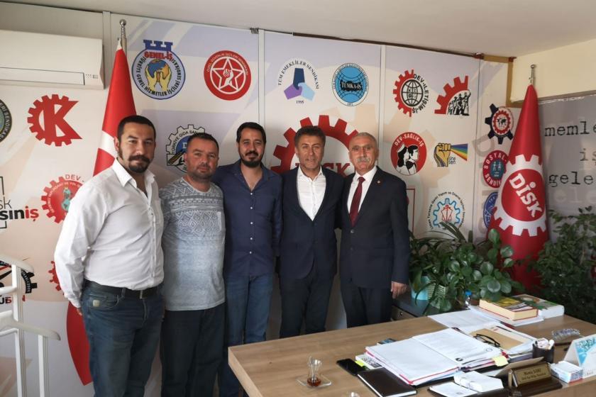 CHP Genel Başkan Yardımcısı Orhan Sarıbal'dan TARİŞ işçilerine ziyaret