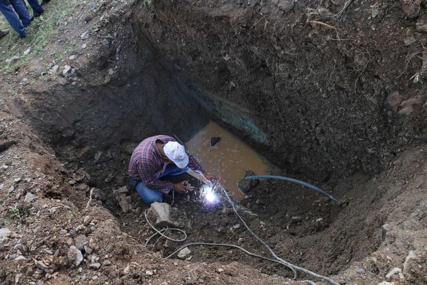 Hakkari'de kayyumun 33 milyon TL ödediği hattan su akmıyor