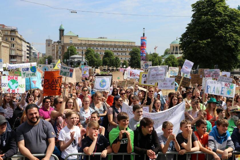 Almanya'da sendikalar ve belediyeler iklim eylemine katılım çağrısı yaptı