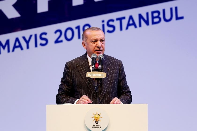 """Erdoğan """"oy çalındı"""" iddiasında ısrarcı: Oy hırsızlığı tam bir felakettir"""
