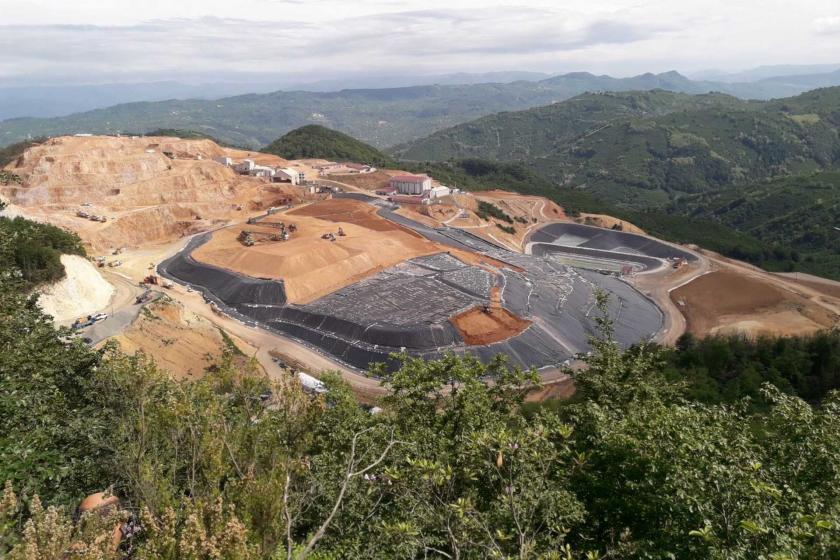 Fatsa'daki bir maden işletmesi