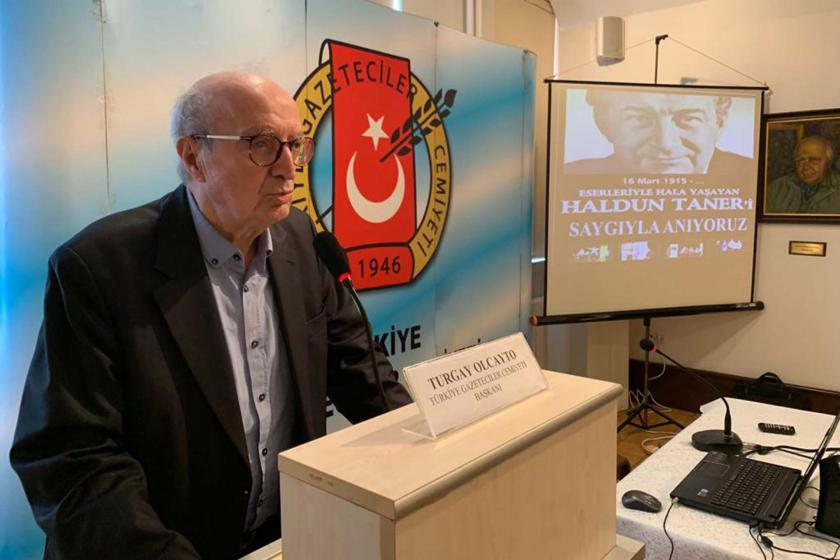 Türkiye Gazeteciler Cemiyeti, Haldun Taner'i andı