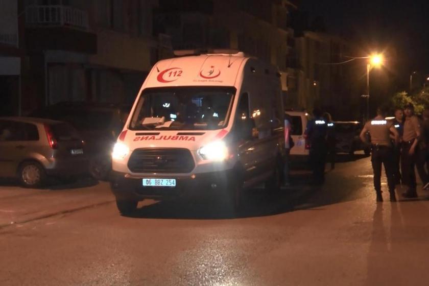 Ankara'da bir erkek, tartıştığı eşini bıçakla yaraladı