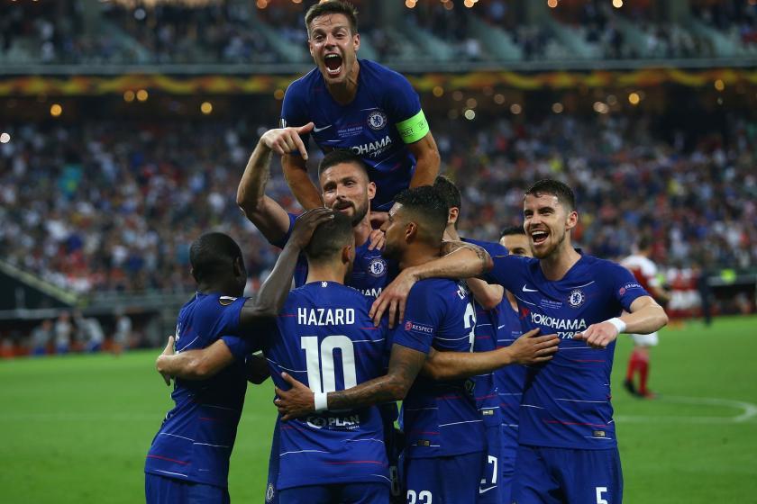 Arsenal'i 4-1 yenen Chelsea, UEFA Avrupa Ligi Şampiyonu oldu