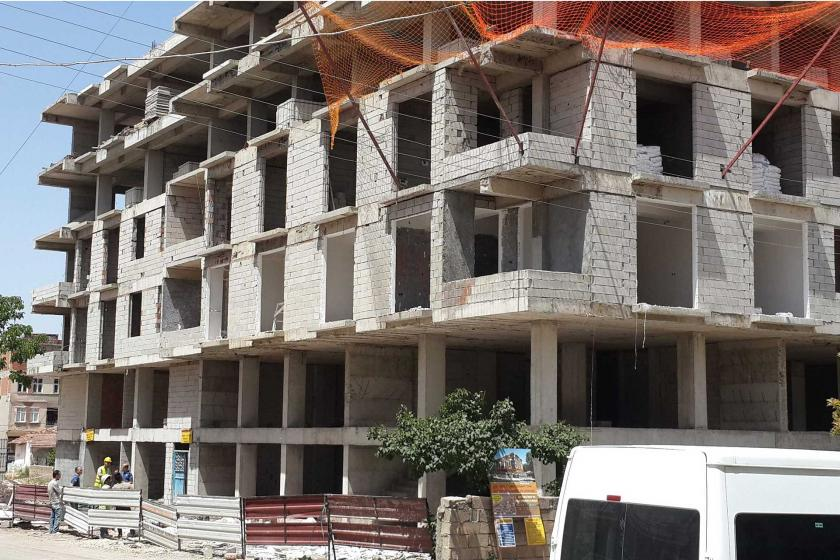 Adıyaman'da inşaattan düşen 51 yaşındaki işçi hayatını kaybetti