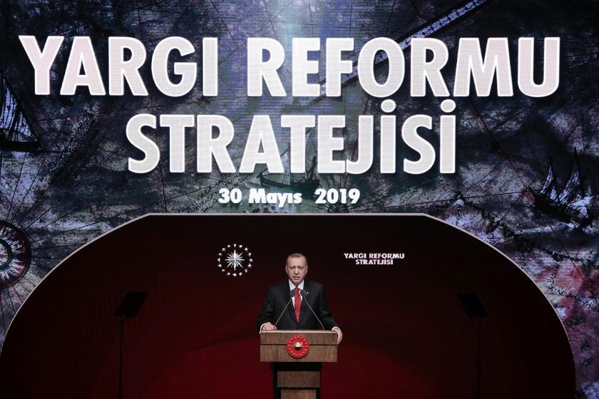 Erdoğan yargı reformu paketini açıkladı: İfade özgürlüğünü güçlendireceğiz