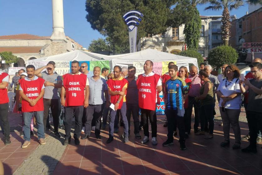 Genel-İş: İzmir Aliağa Belediyesinden çıkarılan işçiler işlerine iade edilsin