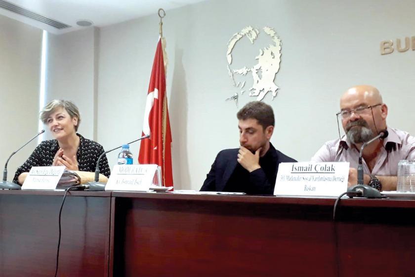 """Bursa Barosu """"5. yılında Soma katliamı"""" paneli düzenledi"""