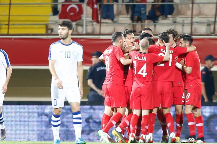 Türkiye, hazırlık maçında Özbekistan'ı 2-0 mağlup etti
