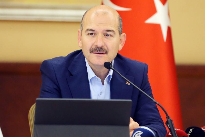 """Süleyman Soylu, Trabzon'da """"Her şey çok güzel olacak"""" sloganıyla protesto edildi"""