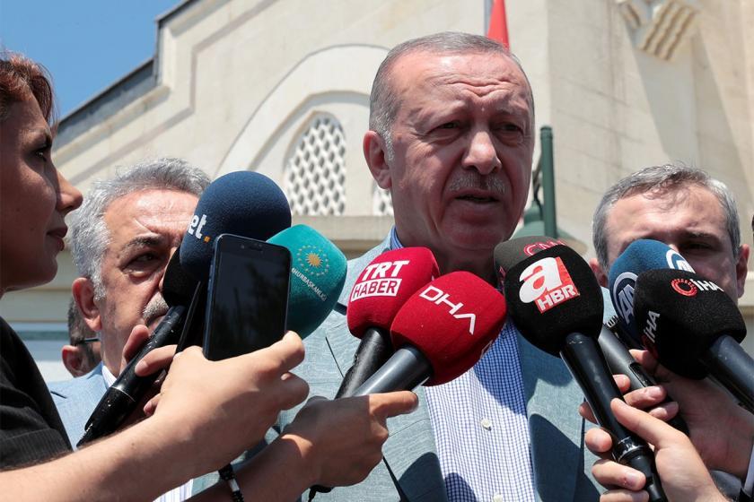 Erdoğan'dan Akdeniz çıkışı: Bu hakları alakası olmayanlara yedirtmeyiz
