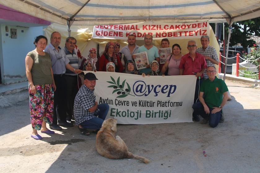 Kızılcaköy halkı: JES şirketi gidene kadar direnişe devam