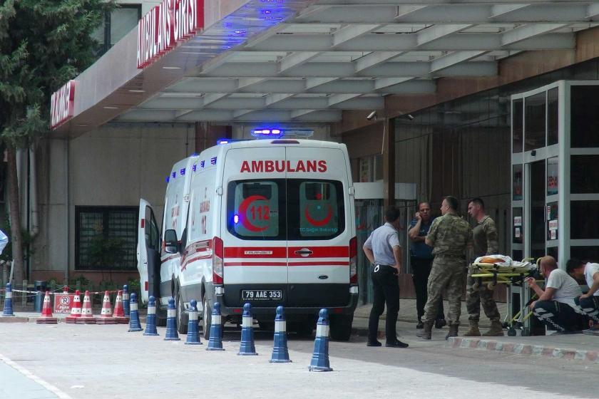 Suriye'nin Azez kentindeki TSK noktasına saldırı: 1 asker öldü, 4 asker yaralı
