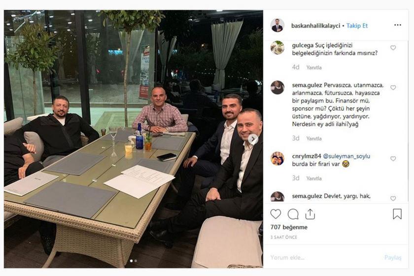 Firari Galip Öztürk, Erdoğan'ın Başdanışmanı Türkoğlu'yla görüntülendi