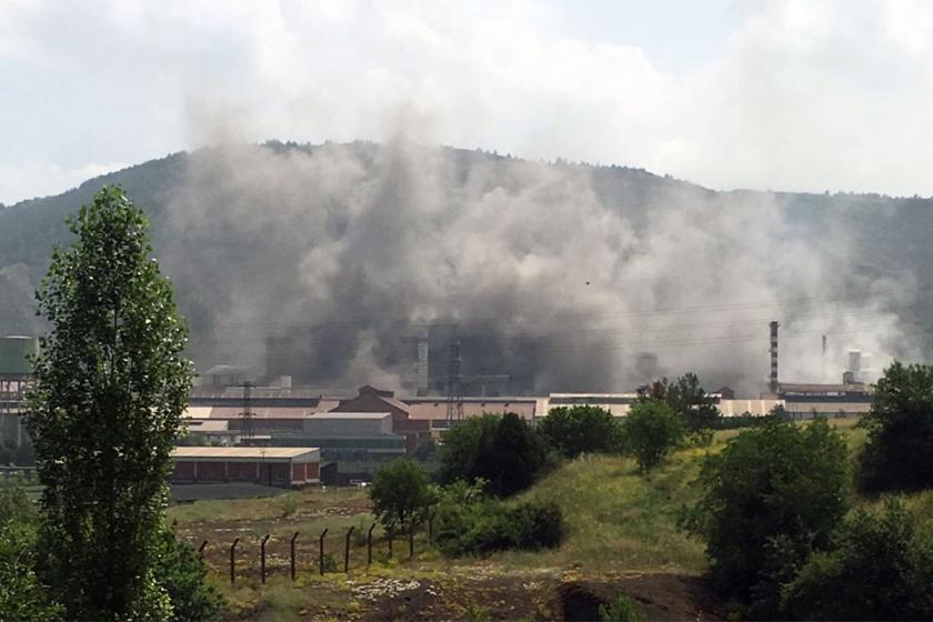 KARDEMİR'de 3 işçi dumandan etkilendi