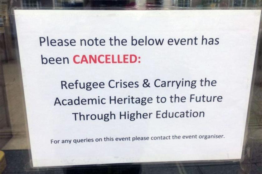 Londra'da yapılacak YÖK sponsorluğundaki panel tepkiler üzerine iptal edildi