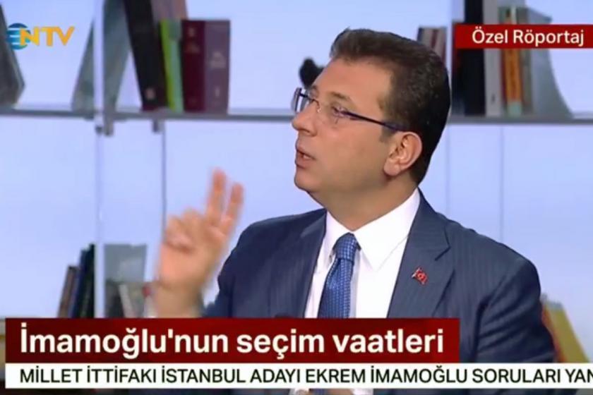 İmamoğlu'dan 'canlı yayın' açıklaması: Yıldırım soruların görüşülmesini istedi