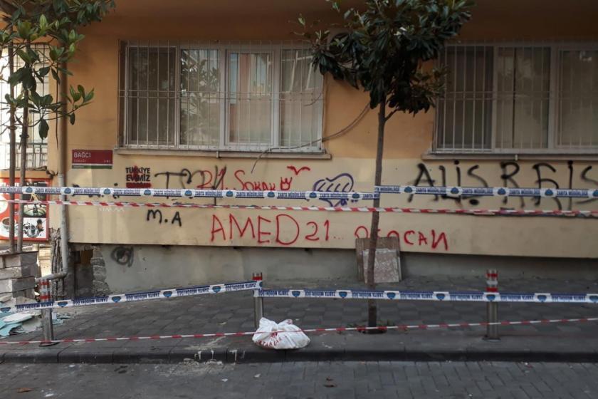 Güngören'de yıkılma tehlikesi bulunan bina tahliye edildi