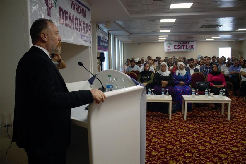 HDP Eş Genel Başkanı Sezai Temelli: Tecridin kaldırılması önemli
