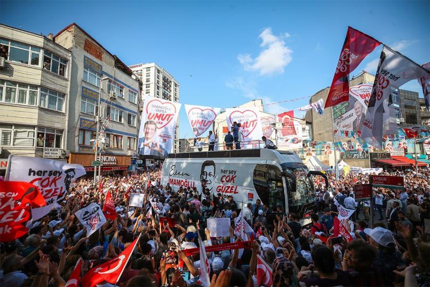 DYP'den 23 Haziran açıklaması: Tüm gücümüzle İmamoğlu'yu destekleyeceğiz