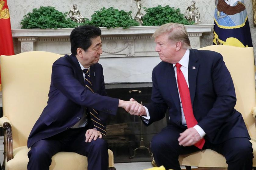 Trump ile Abe'nin gündeminde ana konu İran