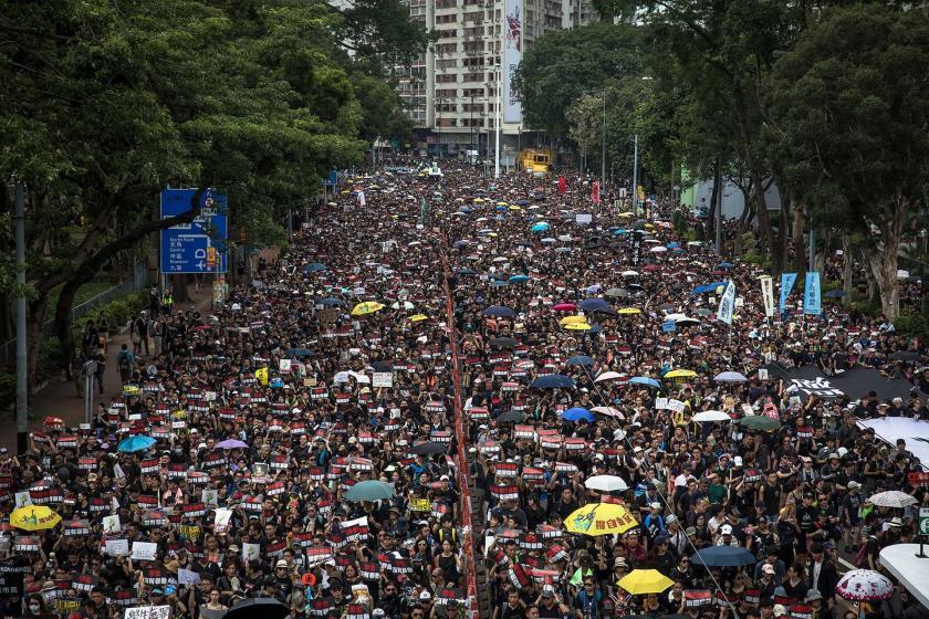 Hong Kong'da iade yasası protestoları sürüyor: Erteleme değil iptal