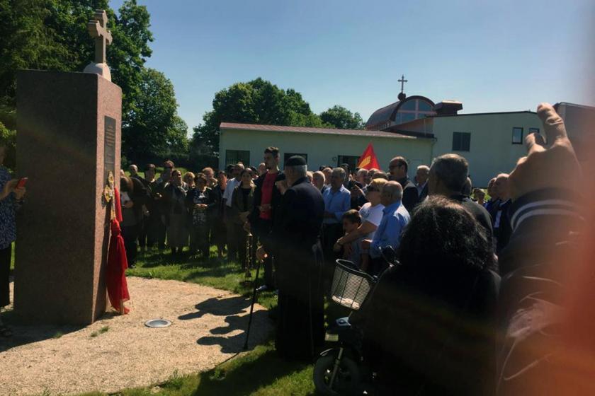 İsveç'te Süryaniler soykırım kurbanlarını andı