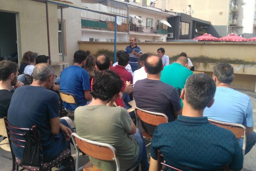 """Gebze'de """"Ekonomik kriz ve sınıf mücadelesi"""" paneli düzenlendi"""