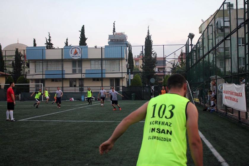 103 Korkmaz İnsan Barış ve Dostluk Futbol Turnuvası'nda mülteciler de var