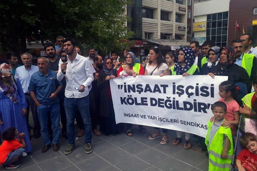 Suudi Arabistan'da greve çıkan inşaat işçileri konsolosa tepkili