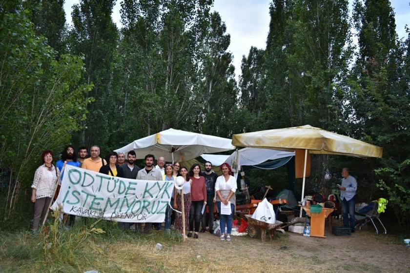"""Mimarlar Odası ODTÜ'deki """"ruhsatsız"""" yurt inşaatına karşı suç duyurusu"""