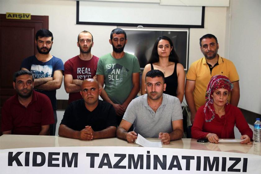 Salih Tekstil işçileri haklarını istiyor