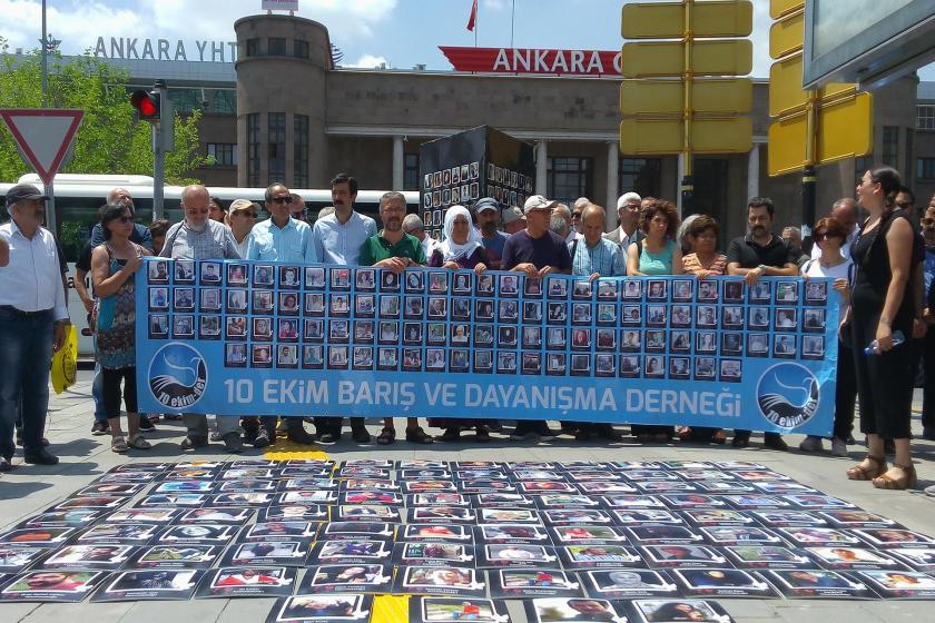 10 Ekim Ankara Katliamı'nın 4. yılı | Aileler: Barış bayrağı hâlâ ellerimizde