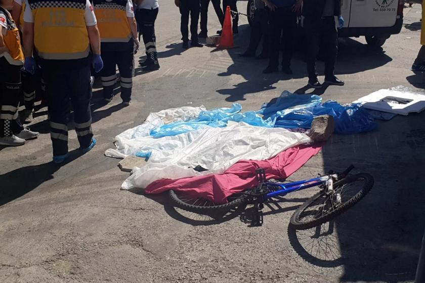 Ankara'da hafriyat kamyonunun çarptığı çocuk öldü
