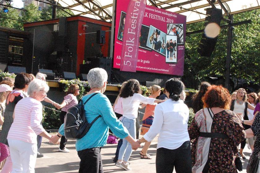 İsveç'te azınlık halklar festivali yapılıyor