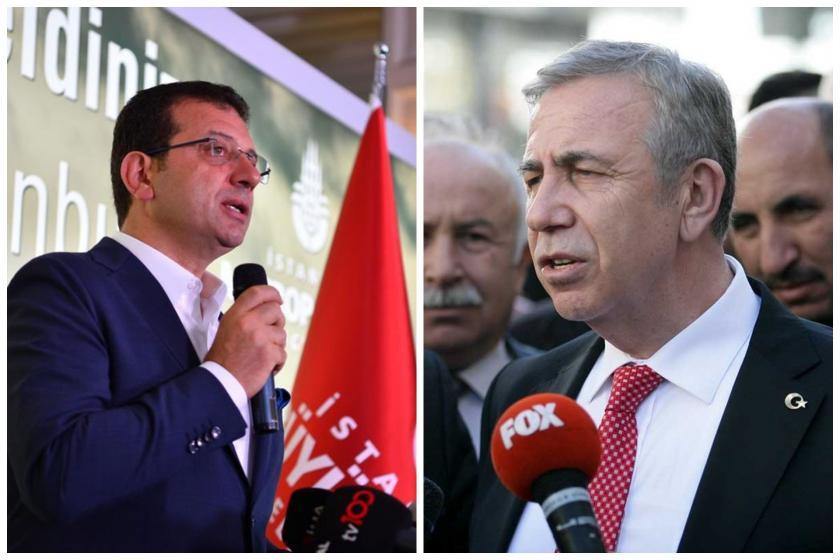 İmamoğlu ve Yavaş'ın Sivas Katliamı paylaşımlarına sosyal medyadan tepki