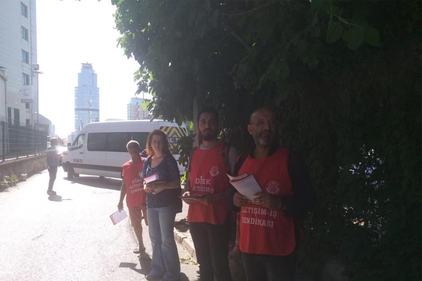 İletişim-İş Sendikası, Turkcell çalışanlarına kıdem tazminatı bildirisi dağıttı