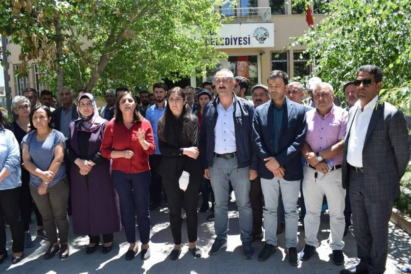 Diyadin Belediye eş başkanlarının polislerce darbedilmesine HDP'den tepki