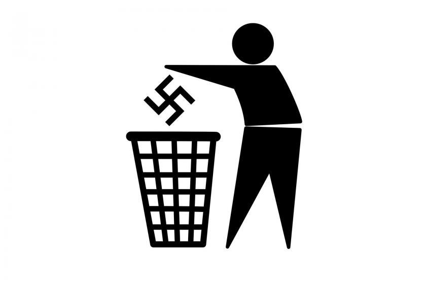 Norveç'te, Nazi sembollü afişler asan üç kişi mahkeme karşısına çıkacak