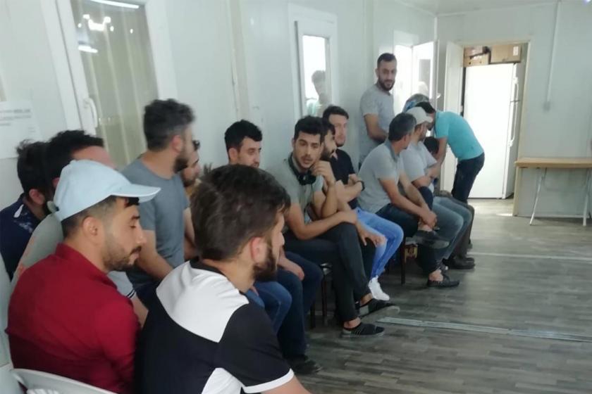 Bayburt inşaat projesinde çalışan işçiler: Haklarımız gasbedilmek isteniyor