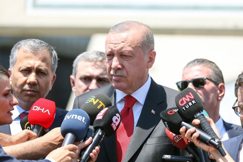 Erdoğan: Yoldaş olmaktan çıkıp farklı istikamete gidenler oldu