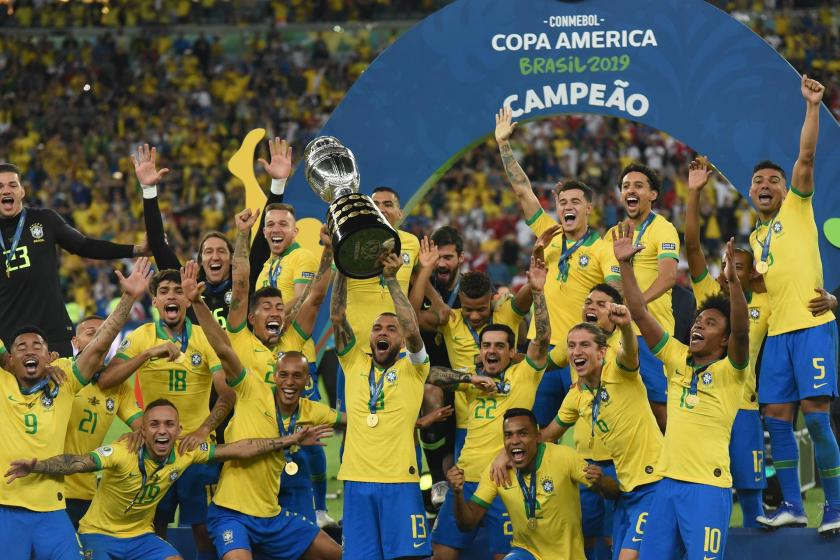 2019 Kupa Amerika'da (Copa America) şampiyon Brezilya oldu