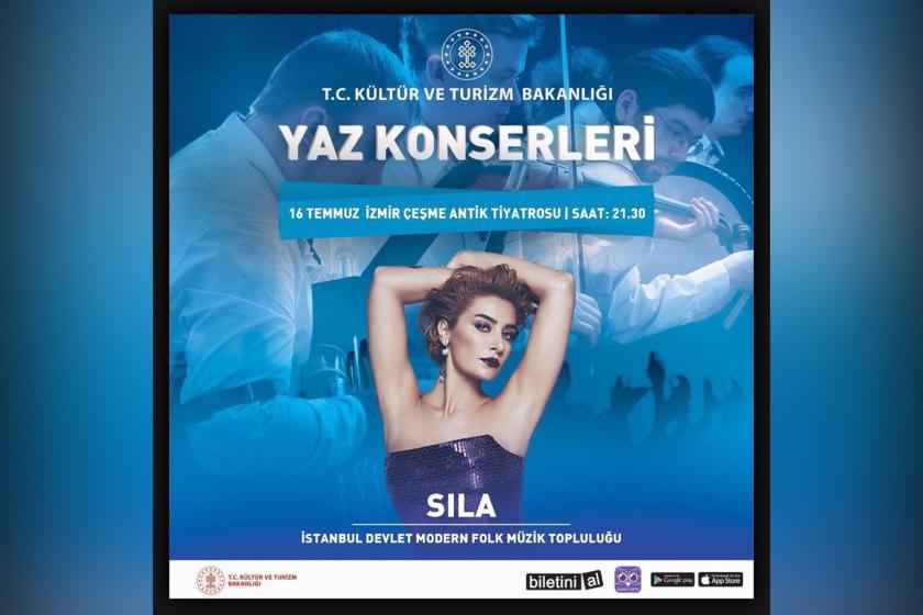 Kültür Bakanlığından Sıla'ya konser yasağı: Program revize edilecek