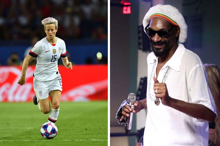 Snoop Dogg: Kadın futbolculara hak ettiğini verin