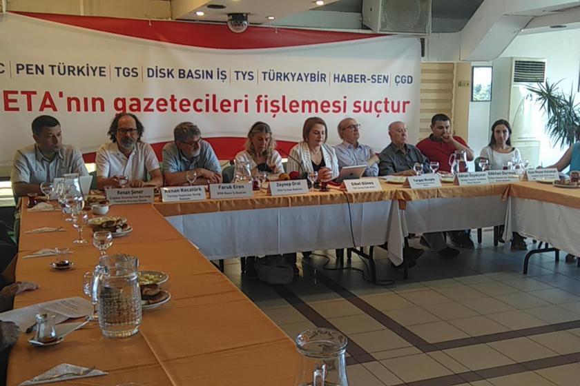 Gazeteci örgütlerinden ortak açıklama: SETA'nın gazetecileri fişlemesi suçtur