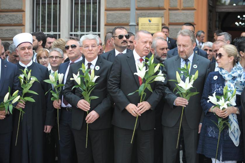 """Saraybosna'da """"Erdoğan'ın korumaları krizi"""""""