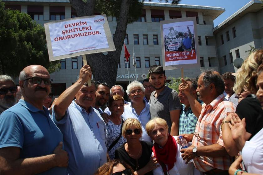 Deniz Gezmiş'i övdüğü için yargılanan CHP'li Mehmet Tüm hakim karşısına çıktı