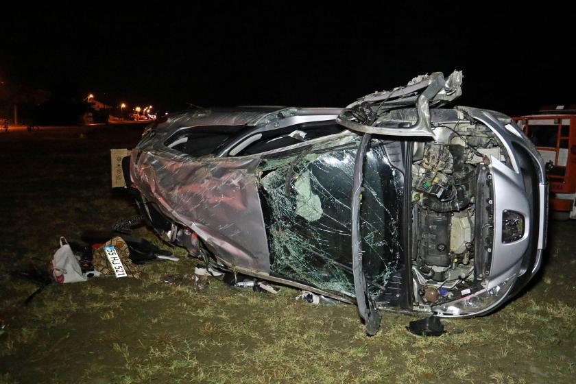 15 yaşındaki çocuğun kullandığı otomobil kaza yaptı, 1 kişi yaşamını yitirdi